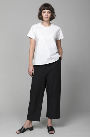 Double Layer Pant - White