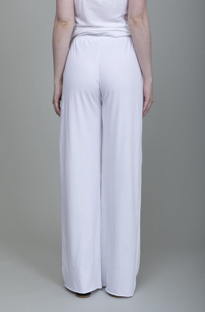 Skin - Double Layer Pant - White - Verdalina