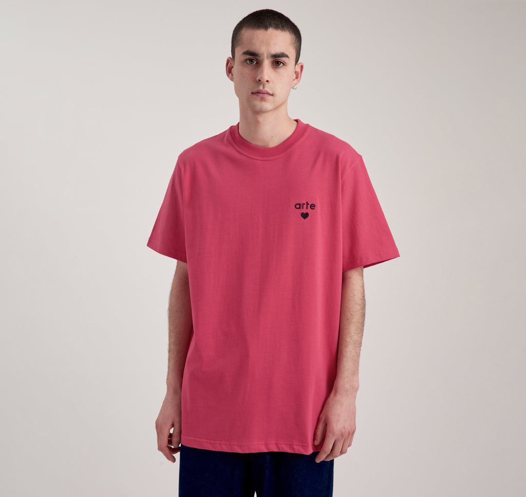 Thomas Heart Pink T-shirt - Arte Antwerp