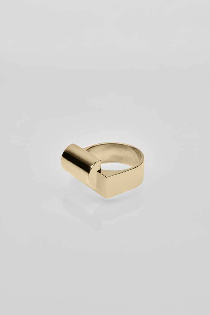 Rietveld Ring Gold - Arte Antwerp