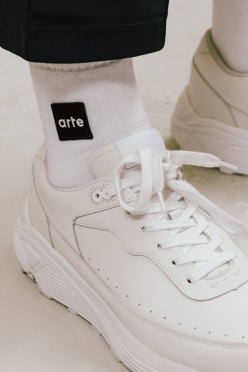 Paly Patch Sock White - Arte Antwerp