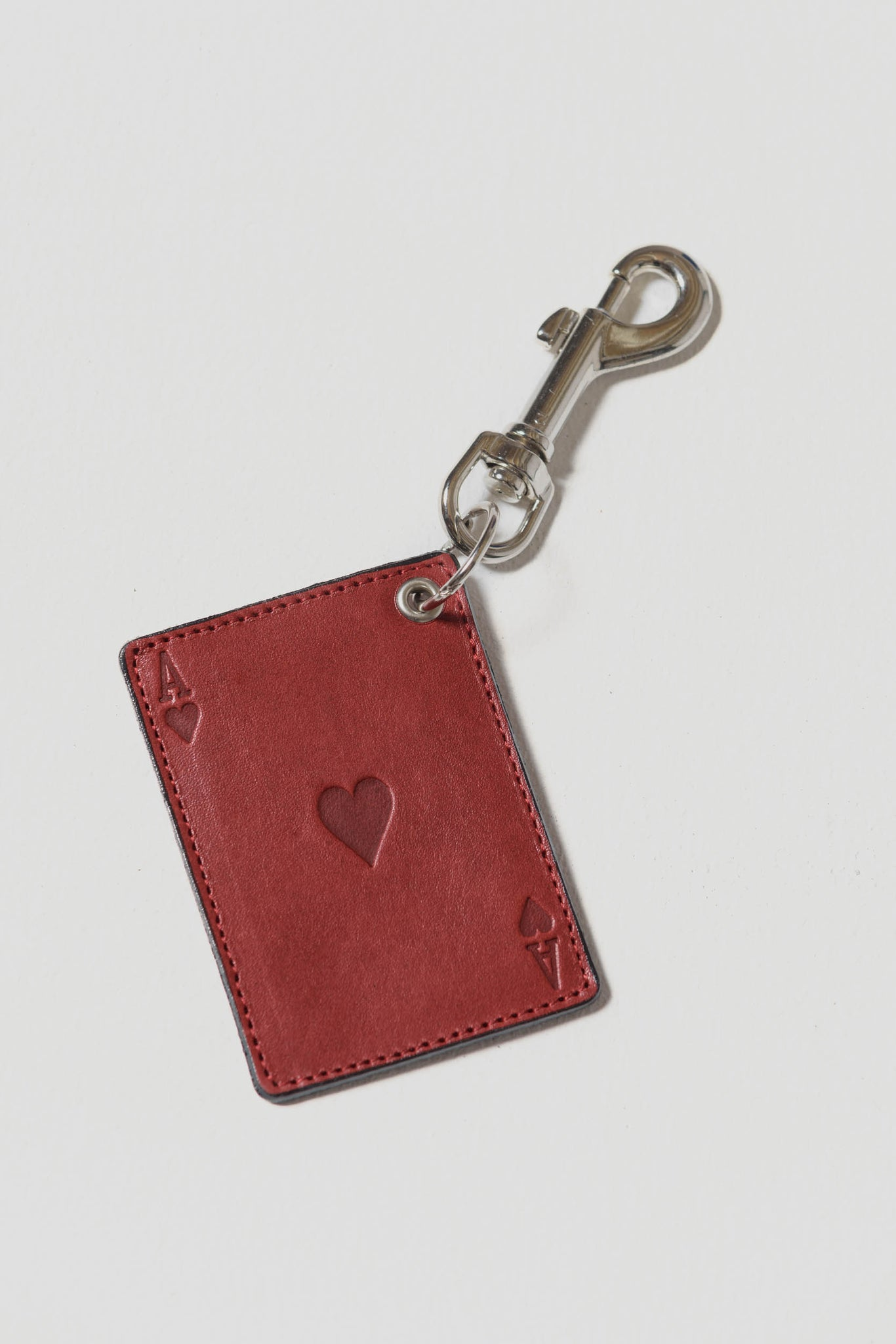 Ace Key Chain Red