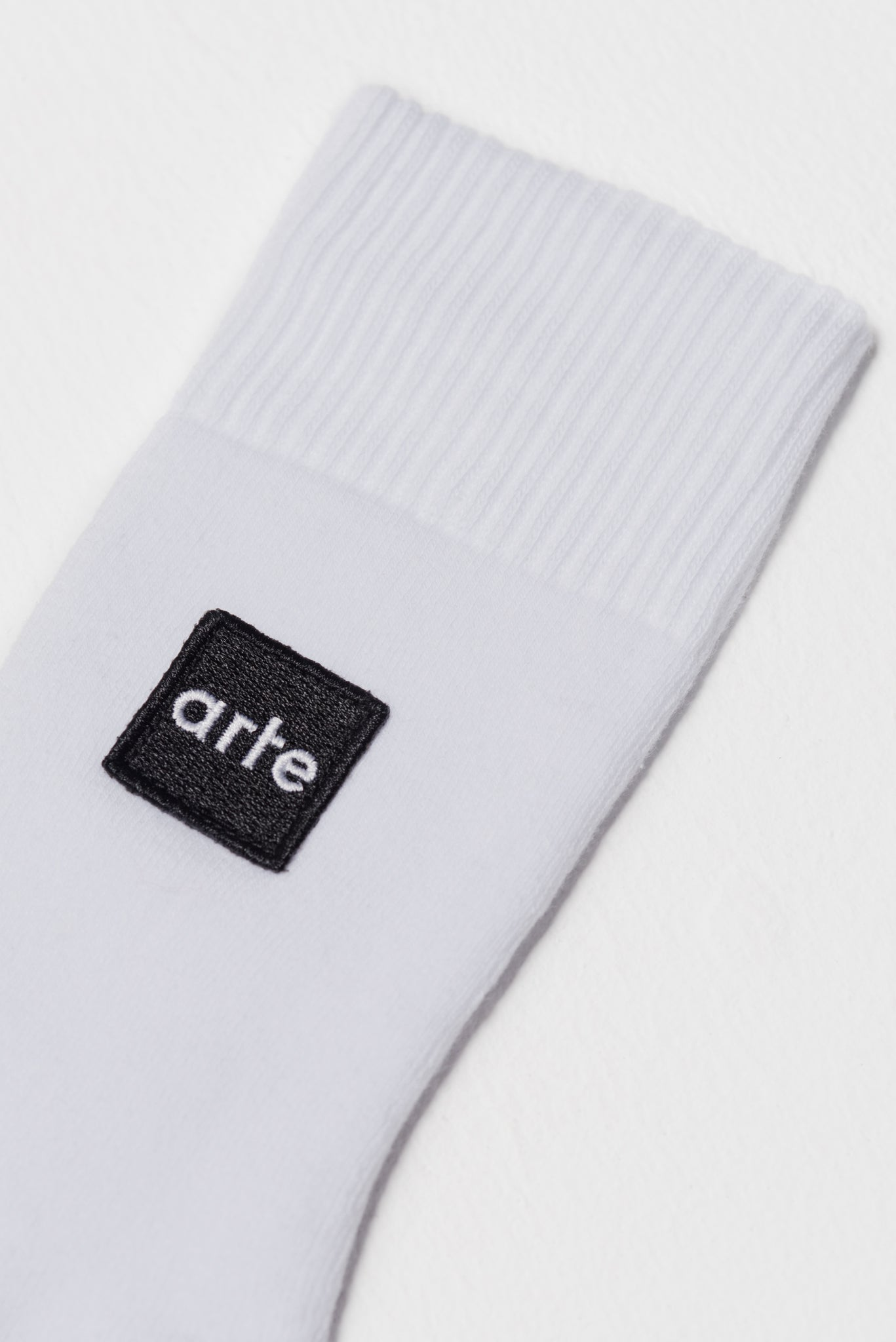 Paly Patch Sock White