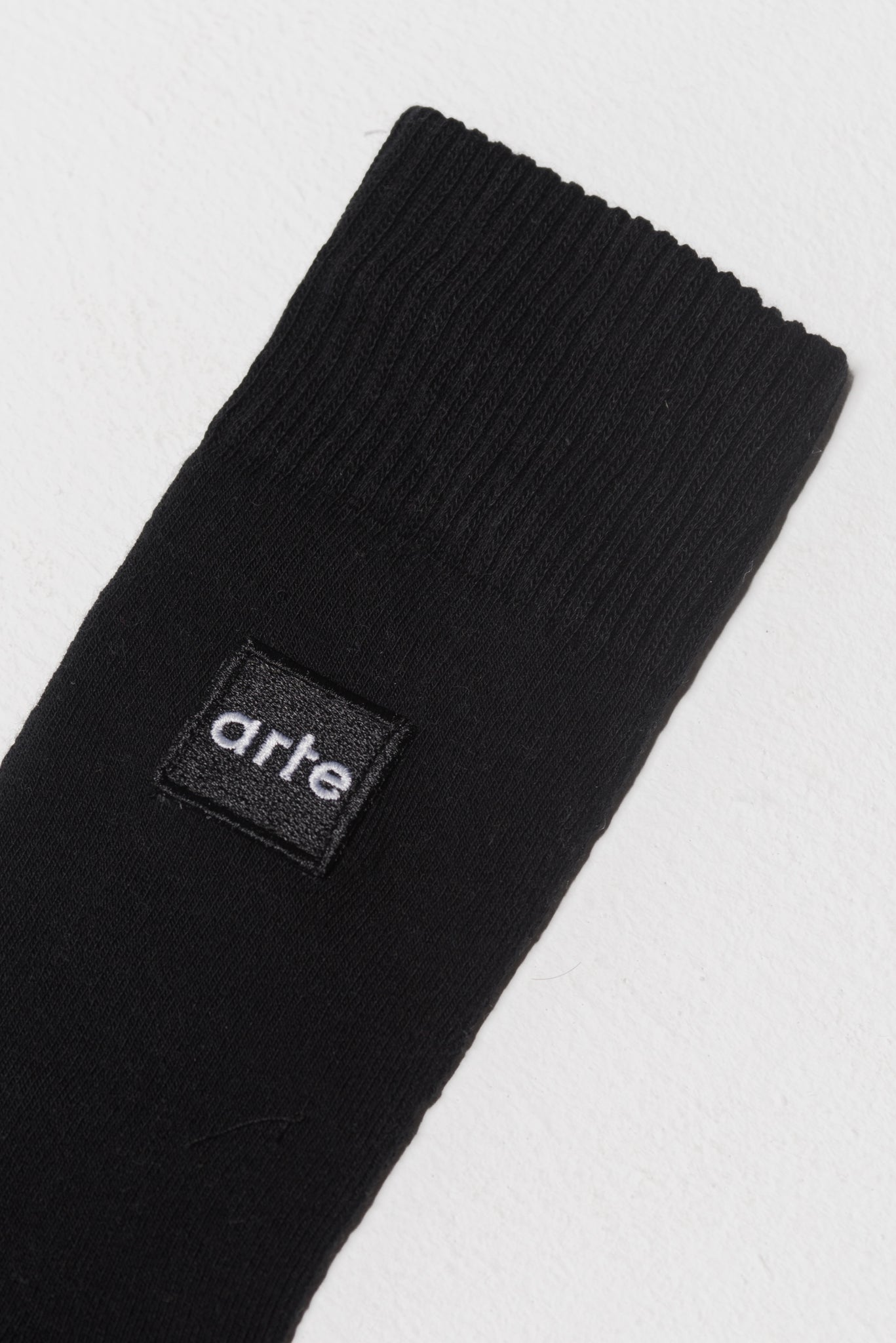 Paly Patch Sock Black