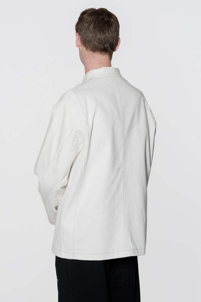 Jonas Work Jacket White