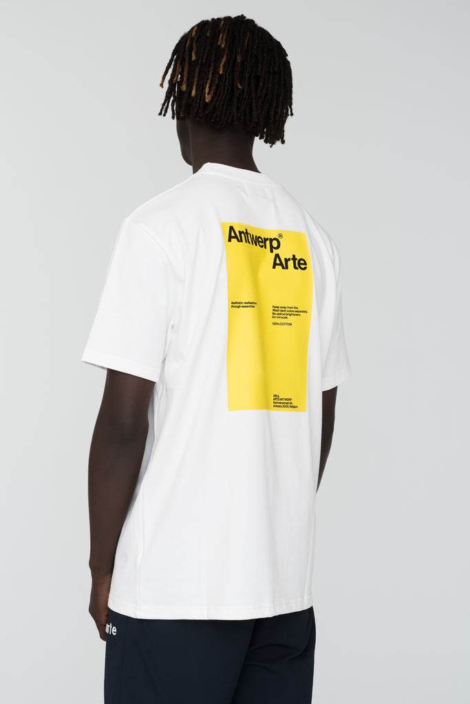 Tony Back White T-shirt - Arte Antwerp