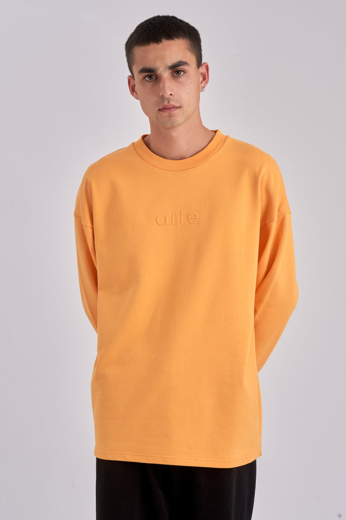 Collin Blazing Orange Sweater - Arte Antwerp