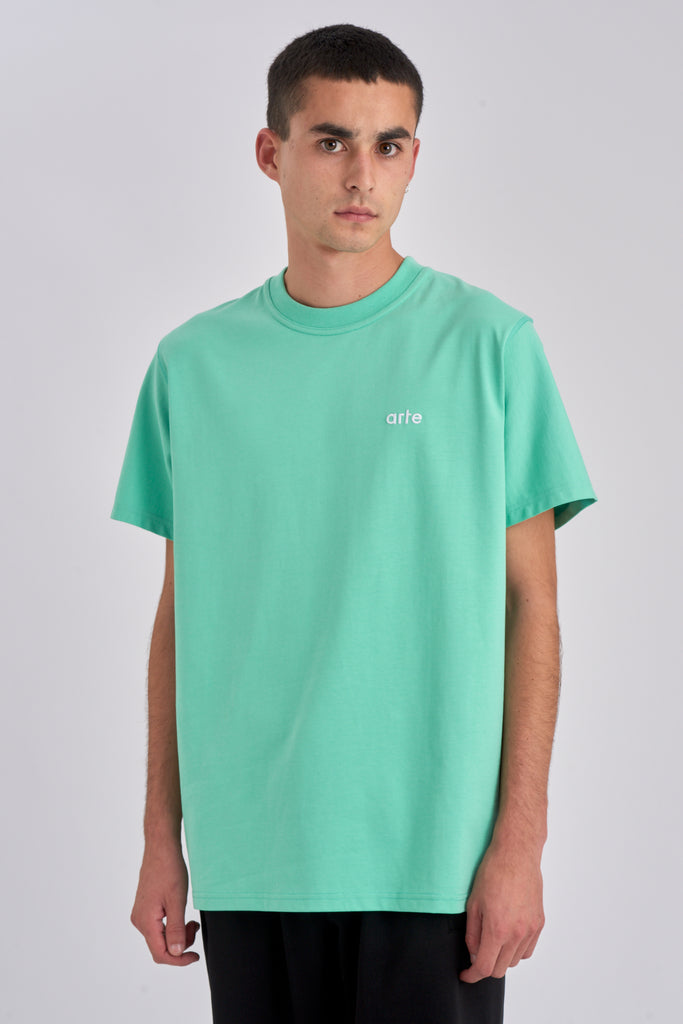 Tyler Mint Green T-shirt - Arte Antwerp