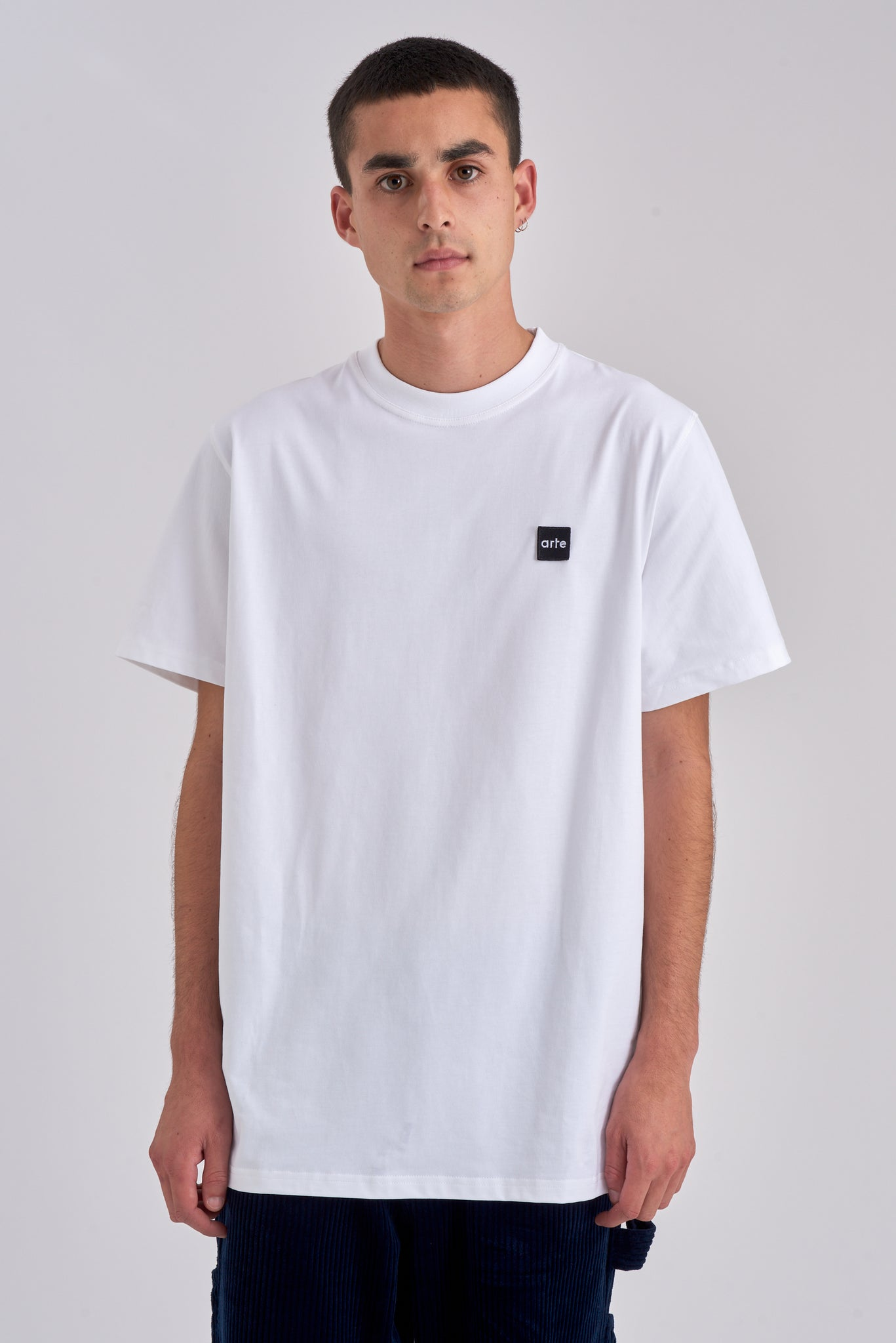 Tyler Patch White T-shirt - Arte Antwerp