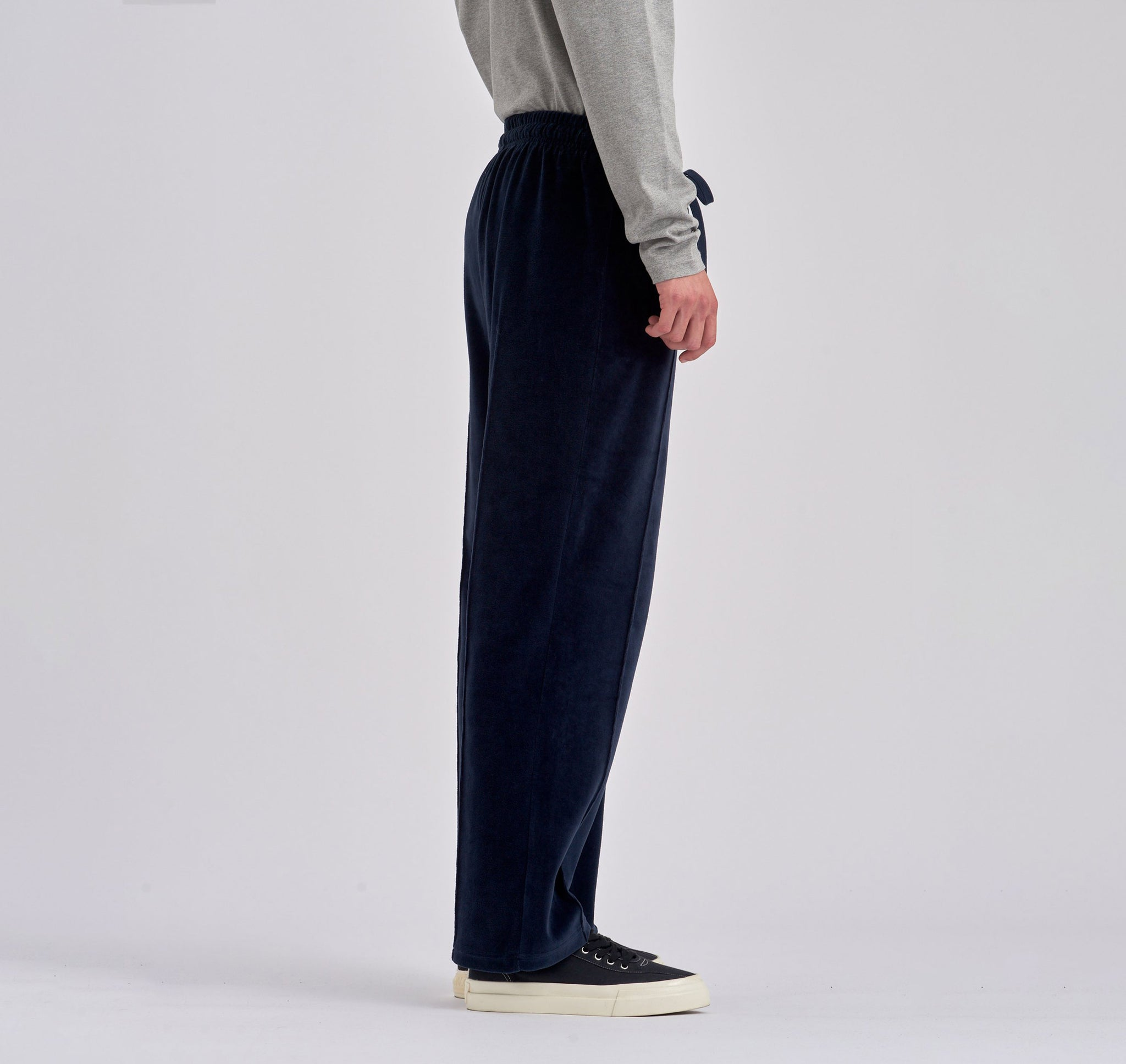 Packer Navy Velvet Pants - Arte Antwerp