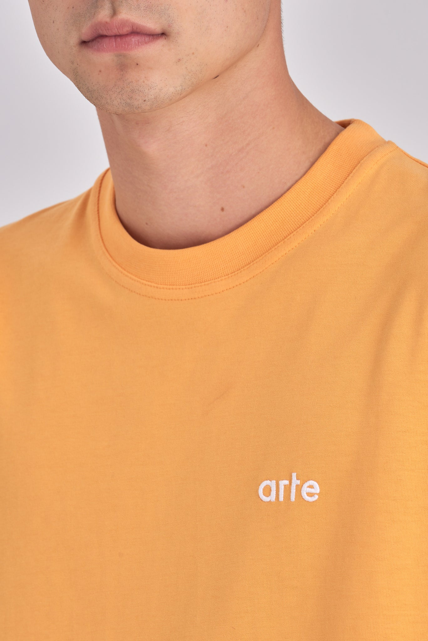Tyler Blazing Orange T-shirt - Arte Antwerp