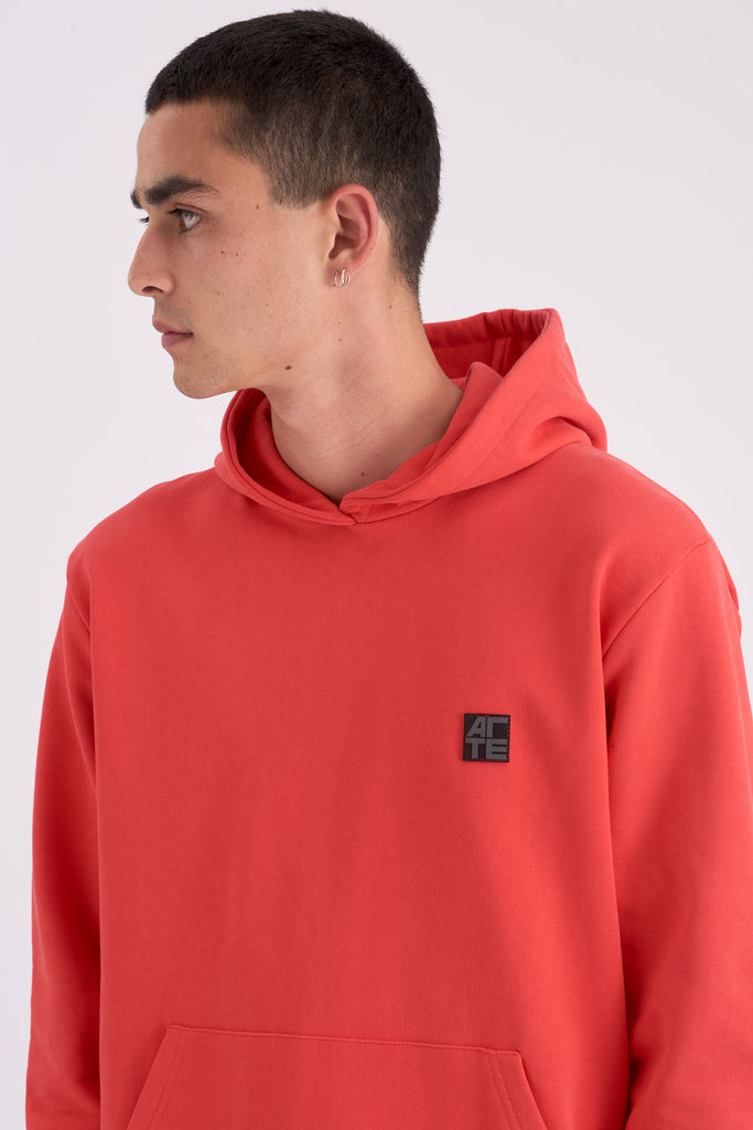 Hunter Patch Red Hoodie - Arte Antwerp