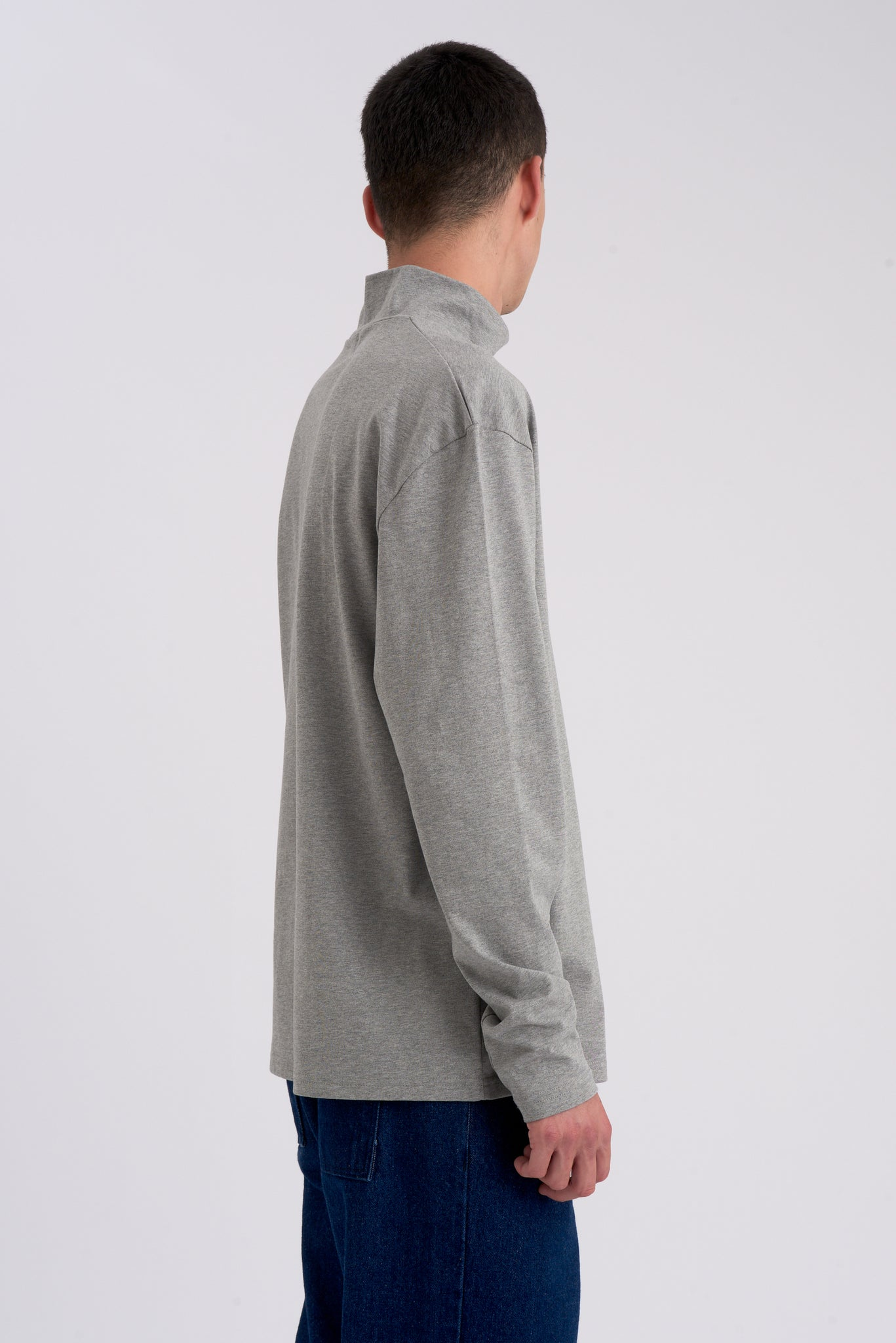 Tate Grey Long-sleeve Turtleneck - Arte Antwerp