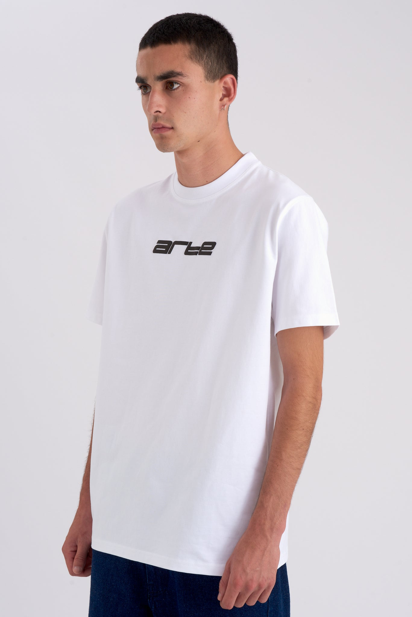 Tyler Digital White T-shirt - Arte Antwerp