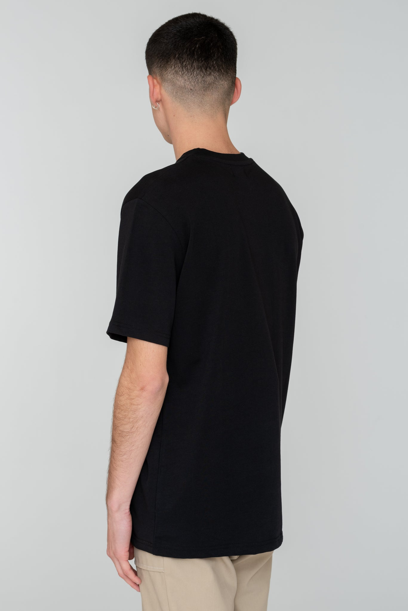 Troy Multi Logo T-shirt Black - Arte Antwerp