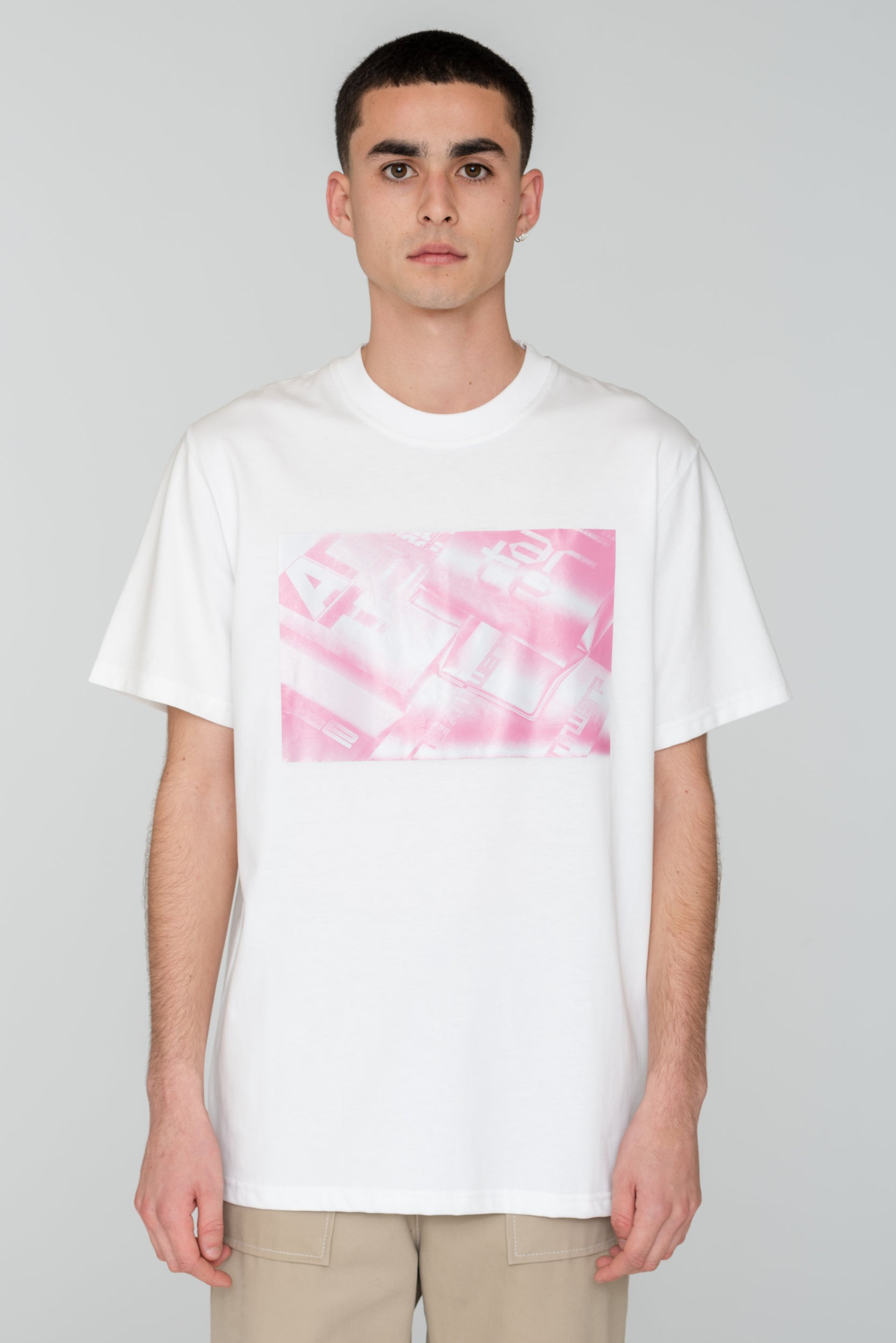 Troy Photo Pink T-shirt