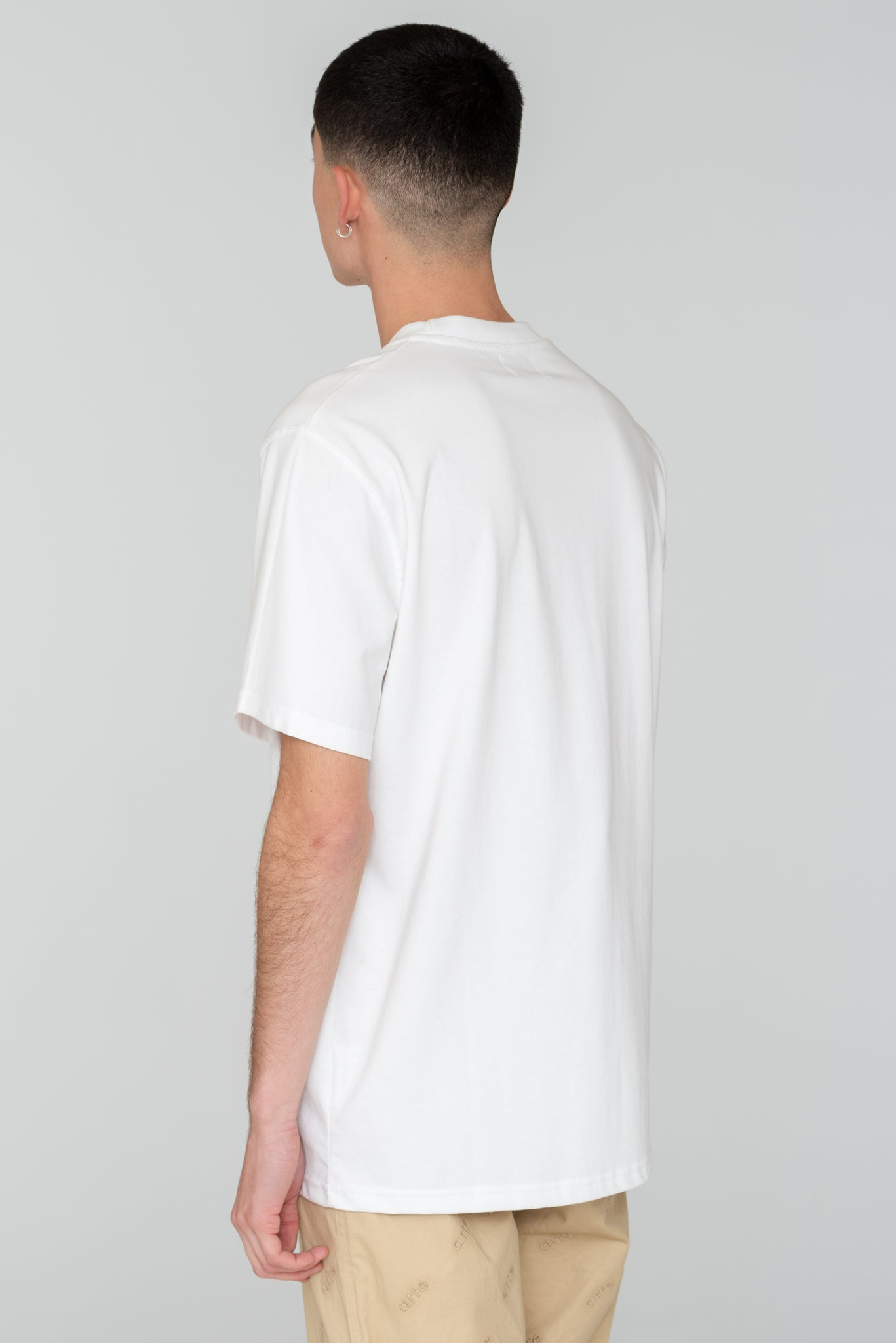 Troy Multi Logo White T-shirt - Arte Antwerp
