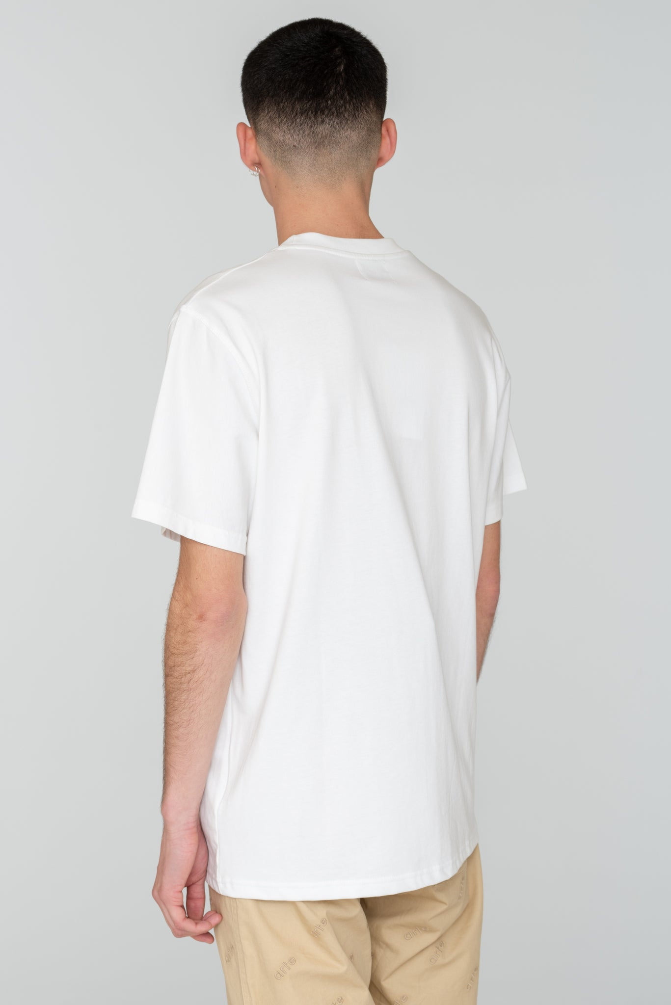 Troy Heart Patch White T-shirt - Arte Antwerp