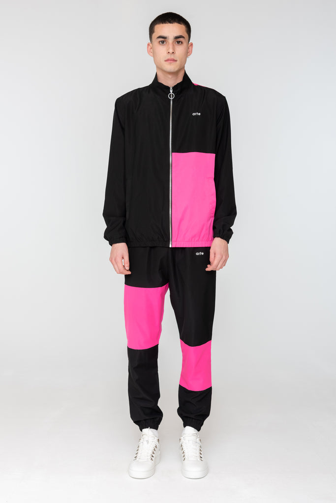 James Track Jacket Pink - Arte Antwerp