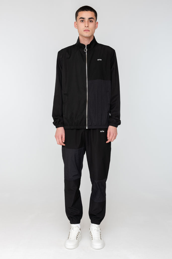 James Track Jacket Black