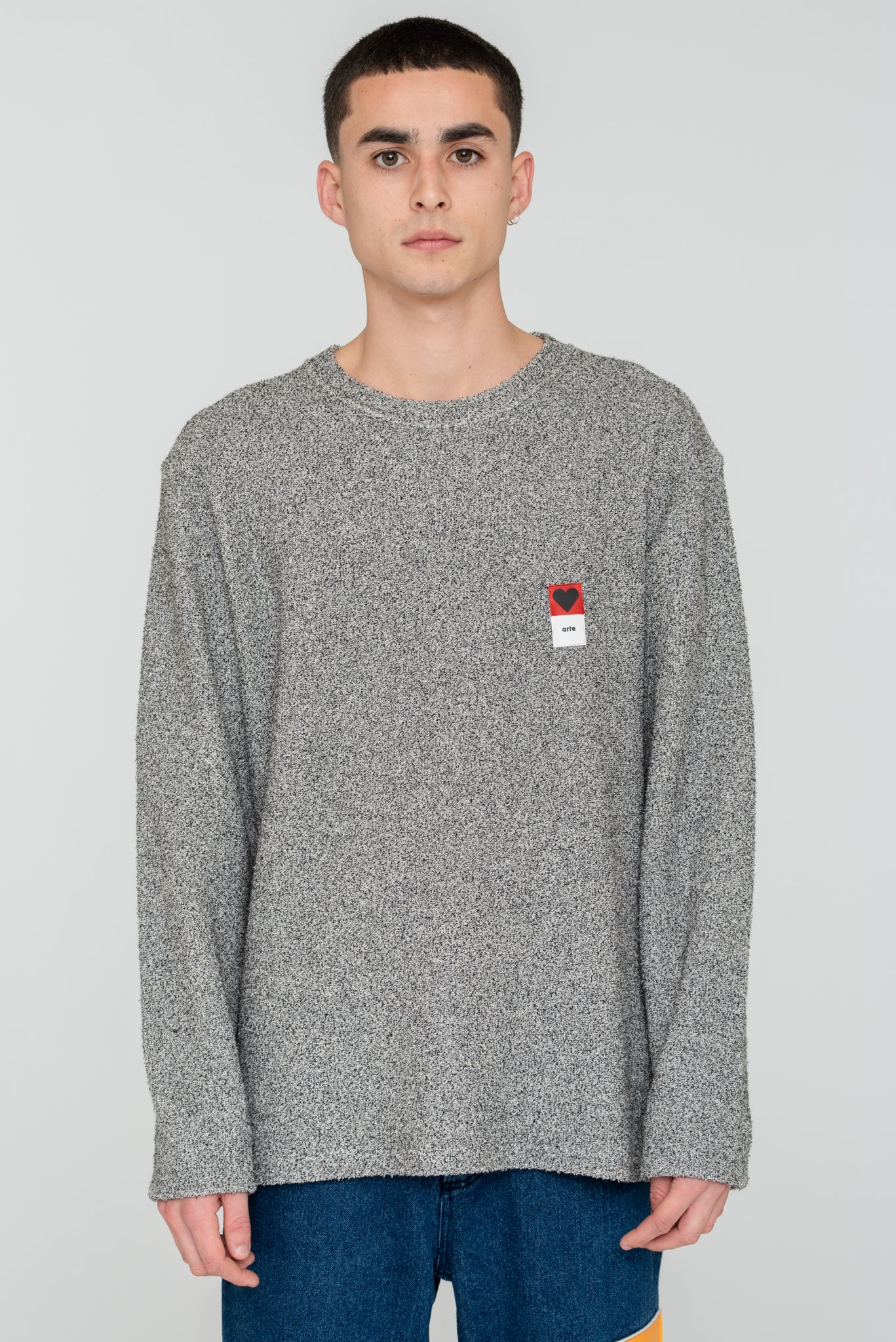Curt Rubber Patch Sweatshirt - Arte Antwerp