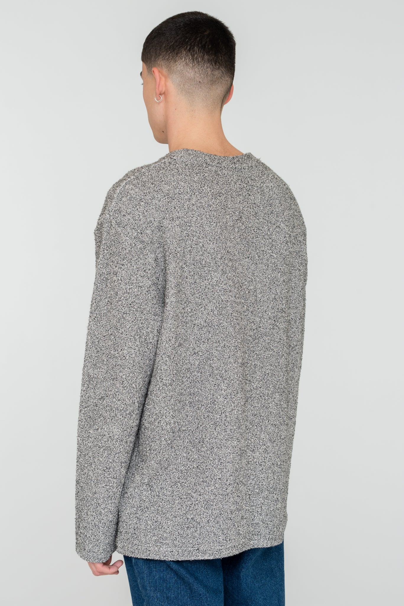 Curt Rubber Patch Sweatshirt
