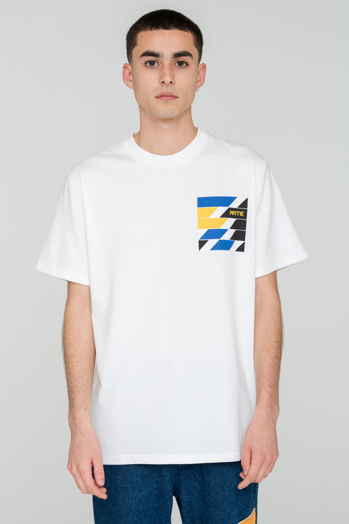 Troy Artwork White T-shirt