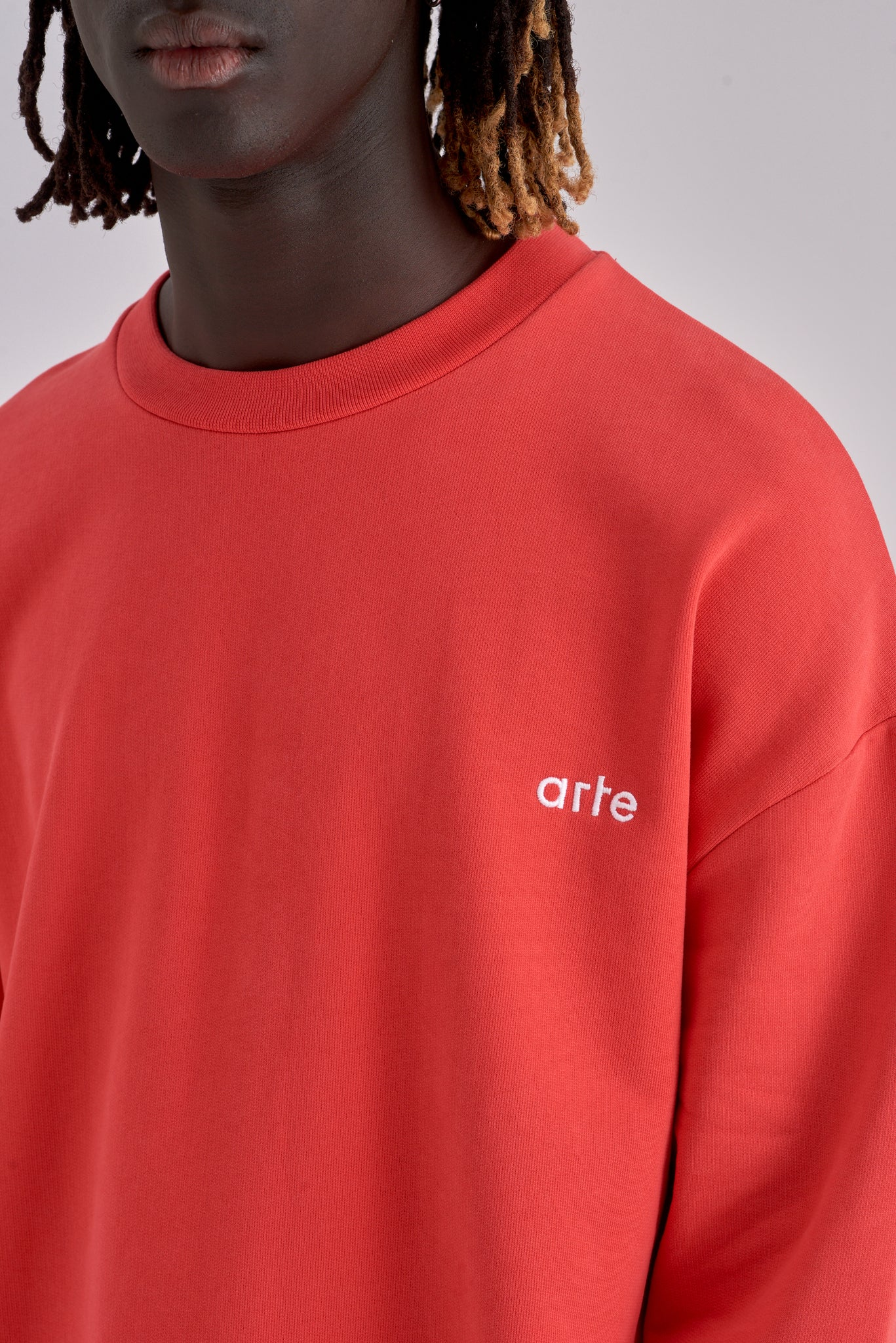 Caleb Red Sweater - Arte Antwerp
