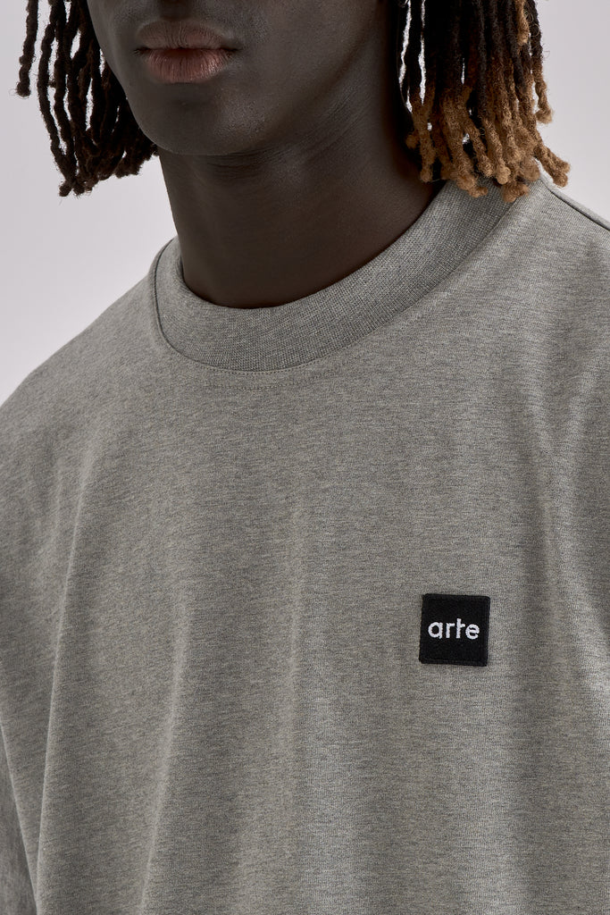 Tyler Patch Grey T-shirt - Arte Antwerp