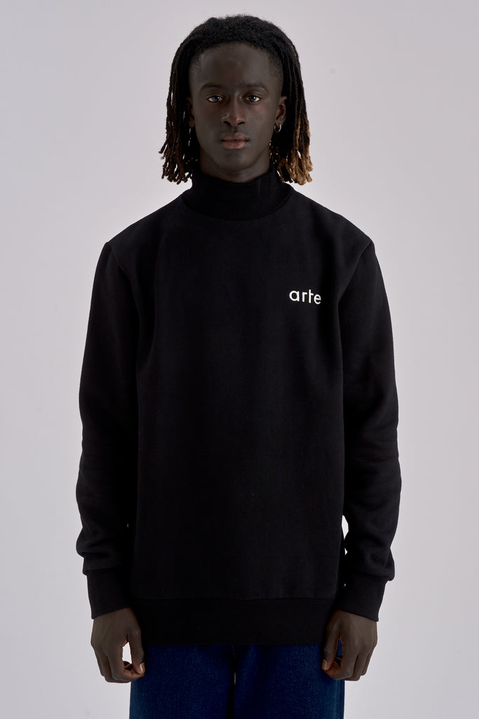 Carter Black Turtleneck - Arte Antwerp