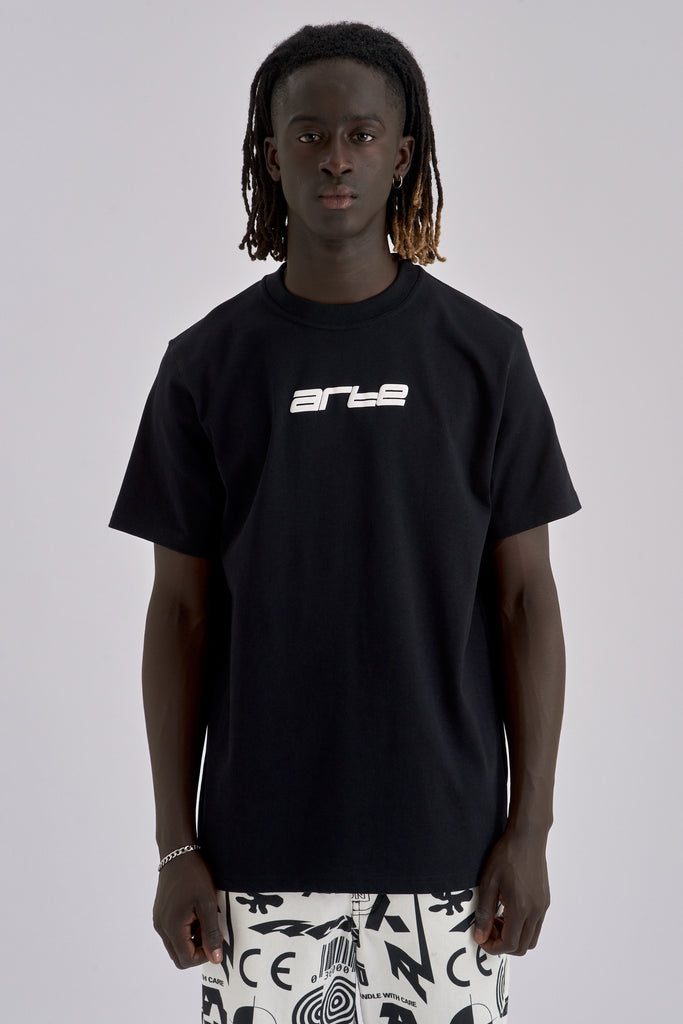 Tyler Digital Black T-shirt - Arte Antwerp