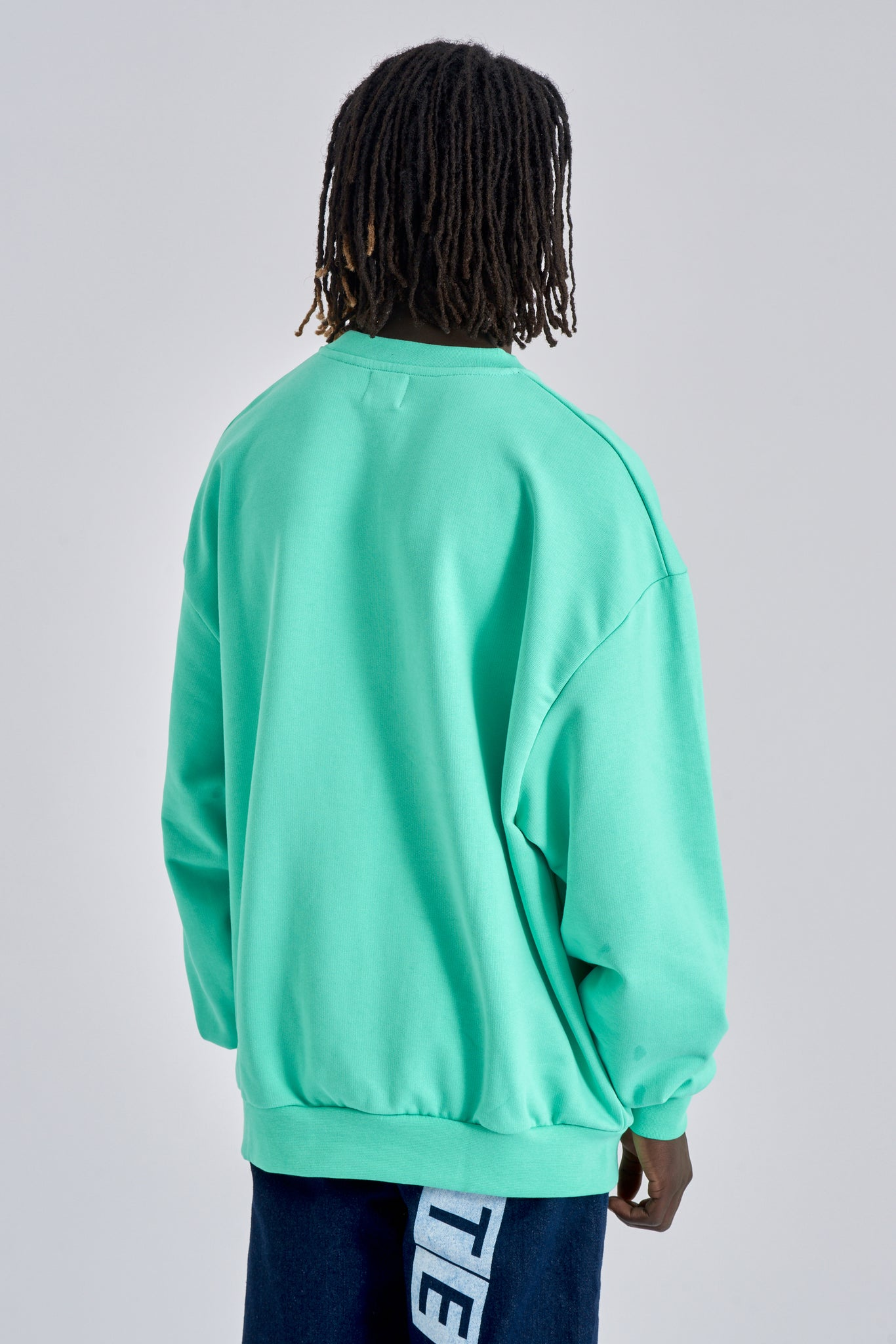 Caleb Mint Green Sweater - Arte Antwerp