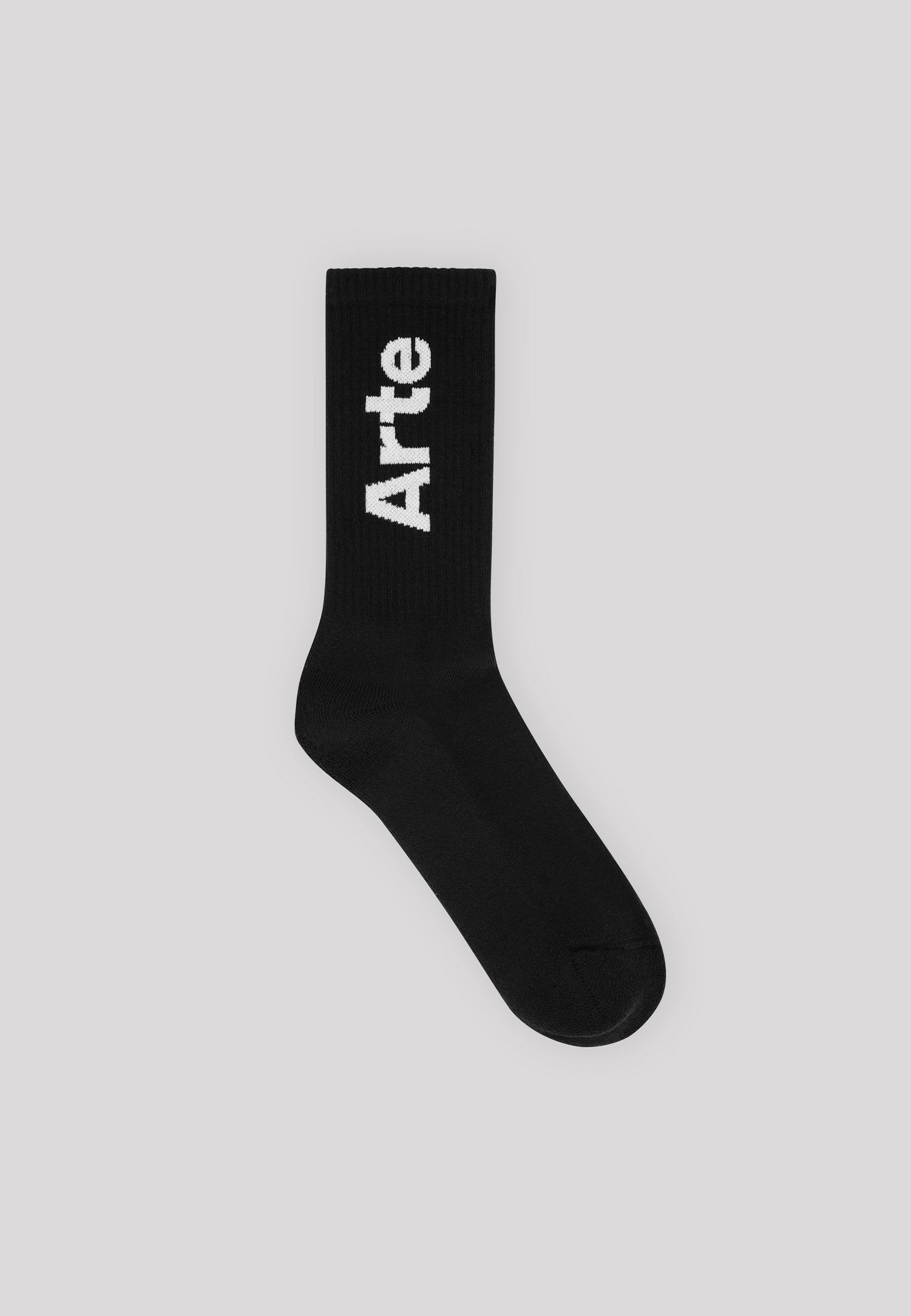 Essential Big Logo Socks - Black