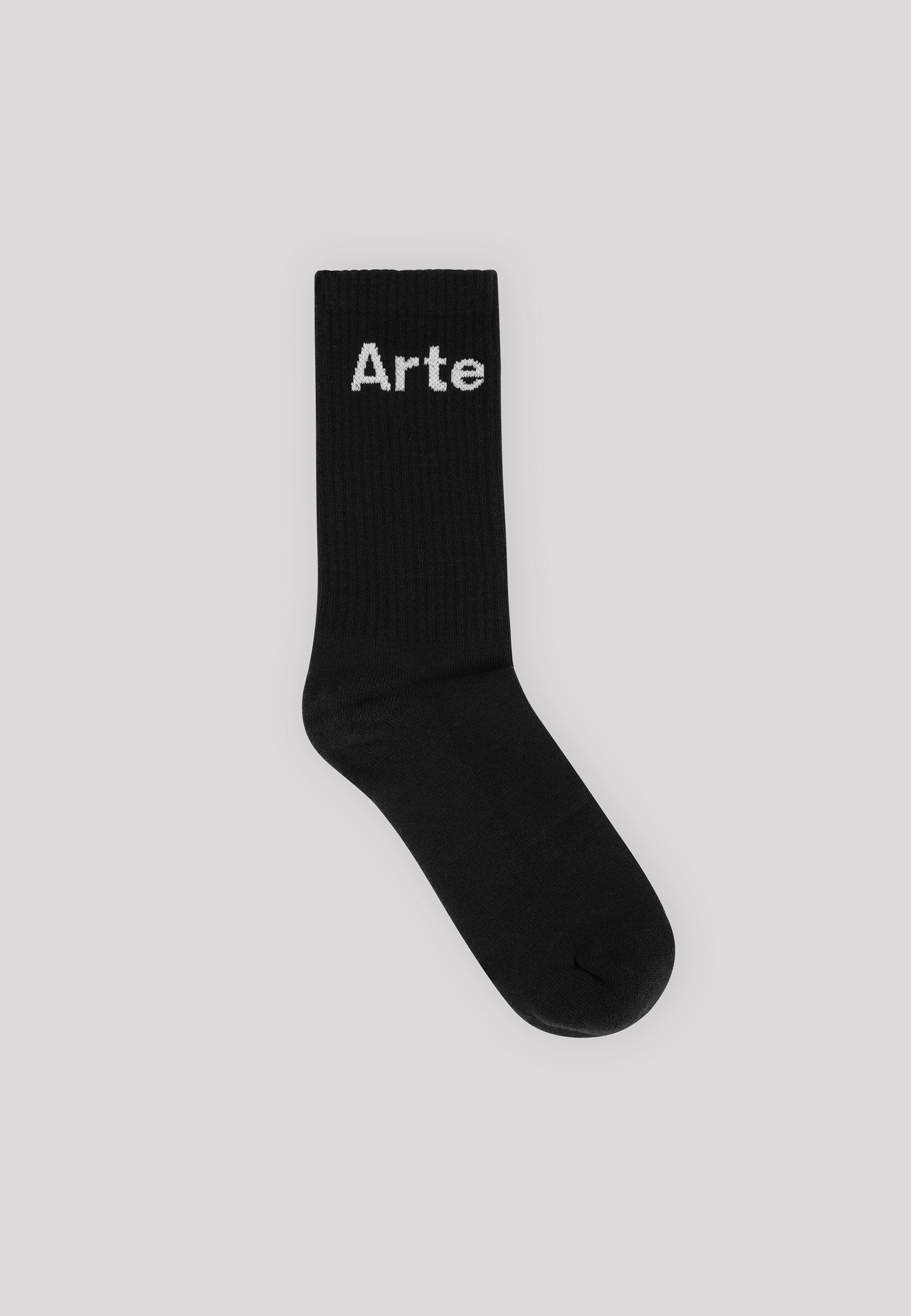 Essential Small Logo Socks - Black