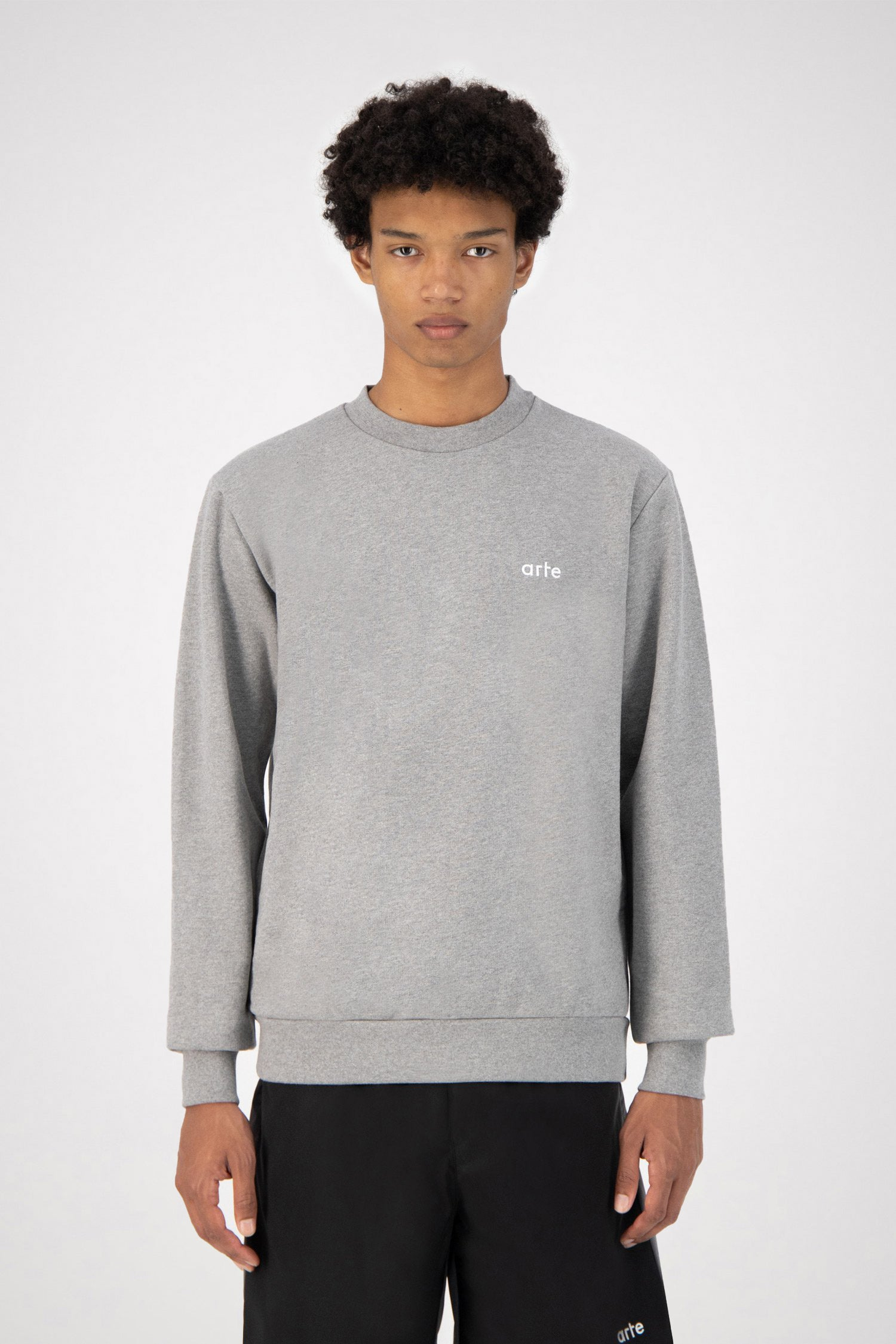 Chuck Logo Sweater - Grey