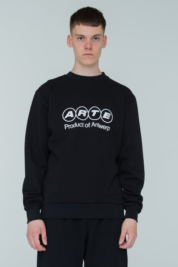 Cole POA Black Sweater