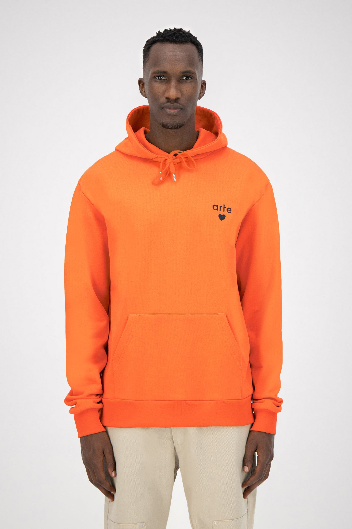 Holden Heart Hoodie - Orange