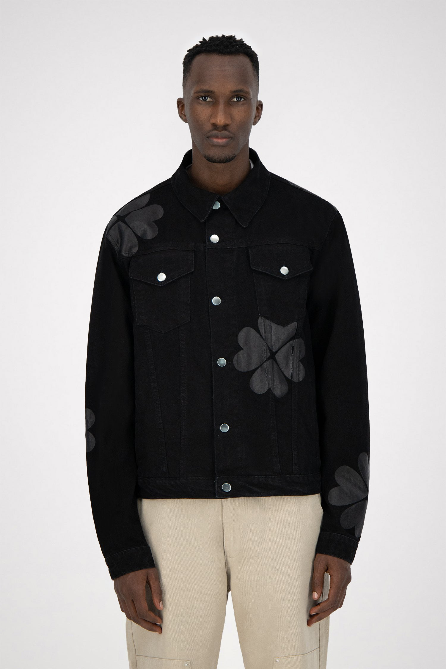 Josh Denim Trevo Jacket - Black