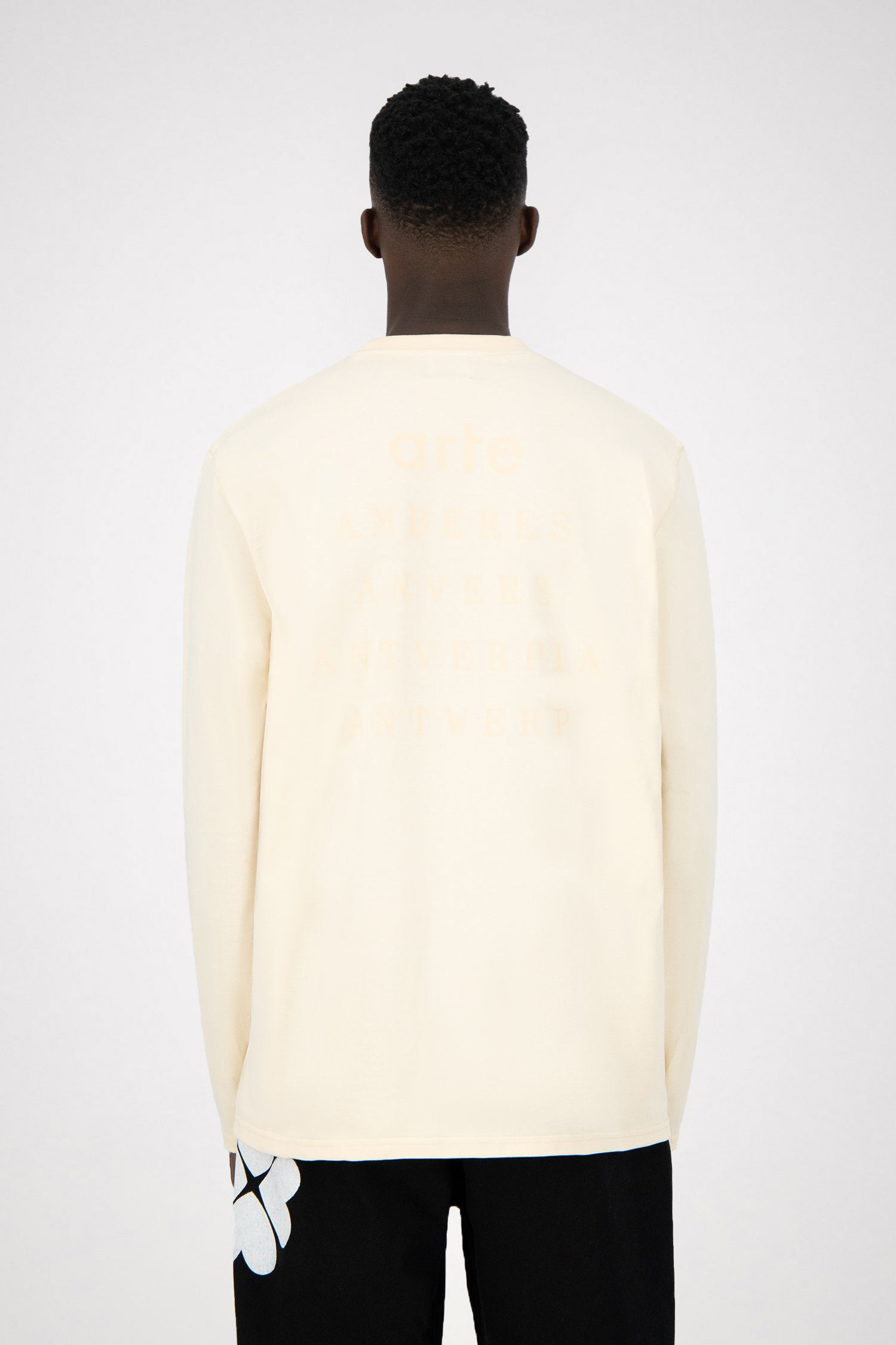 Lenny Antwerp Long Sleeve - Creme