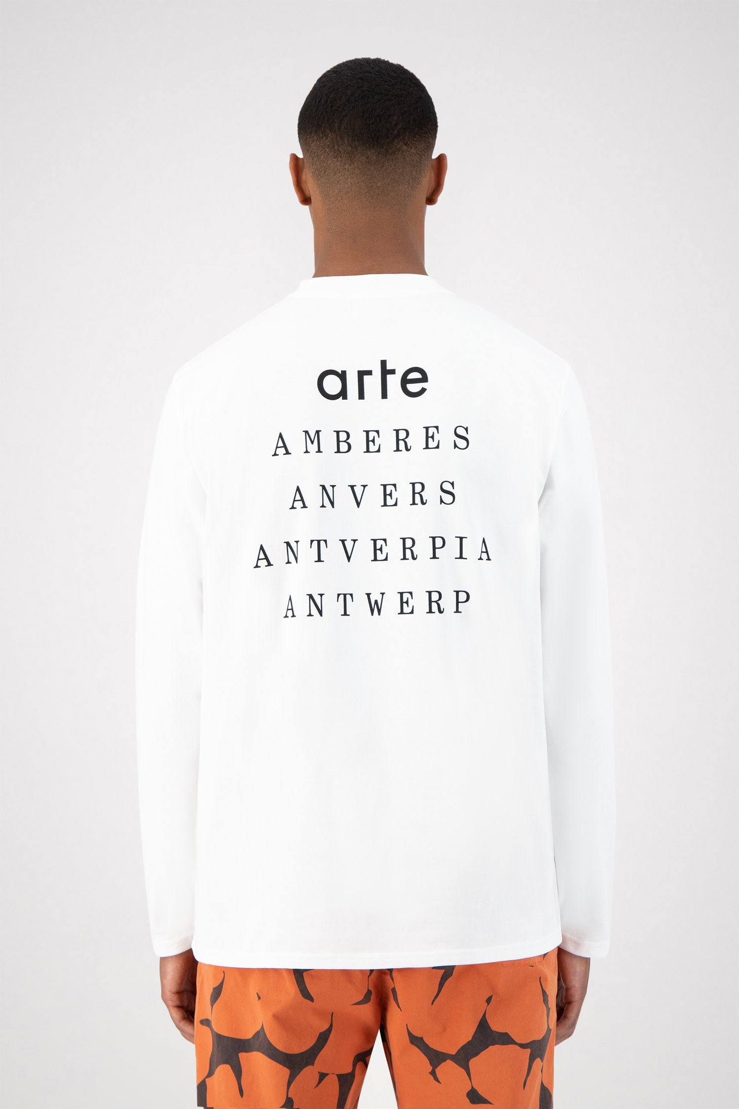 Lenny Antwerp Long Sleeve - White
