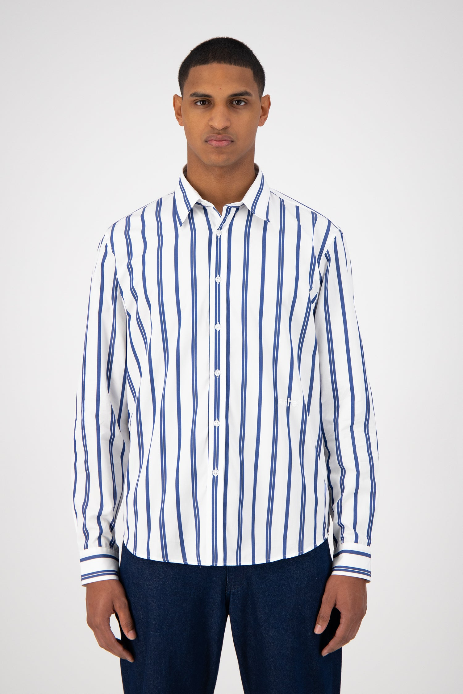 Stockton Shirt - Blue Striped