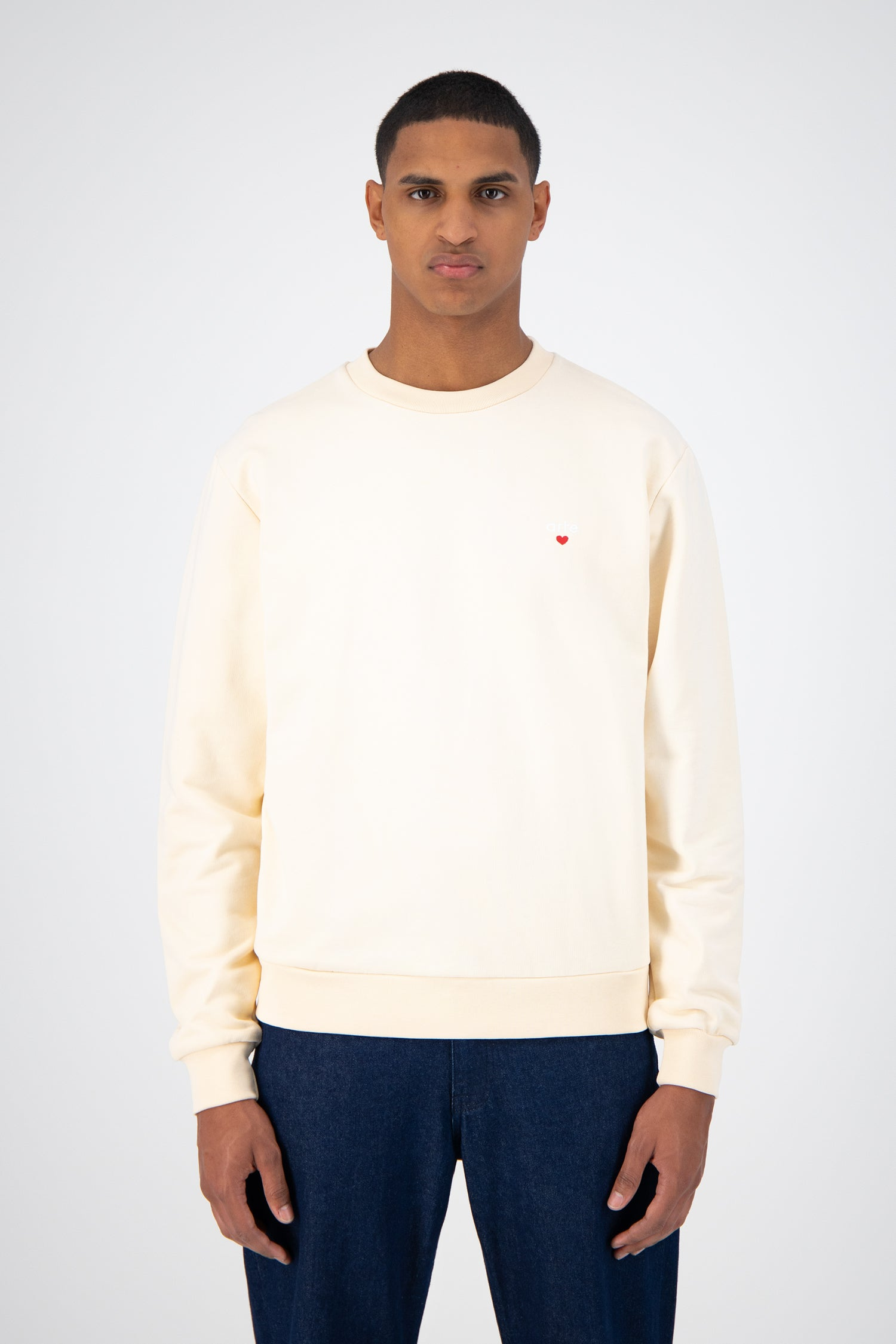 Chuck Heart Logo Sweater - Cream