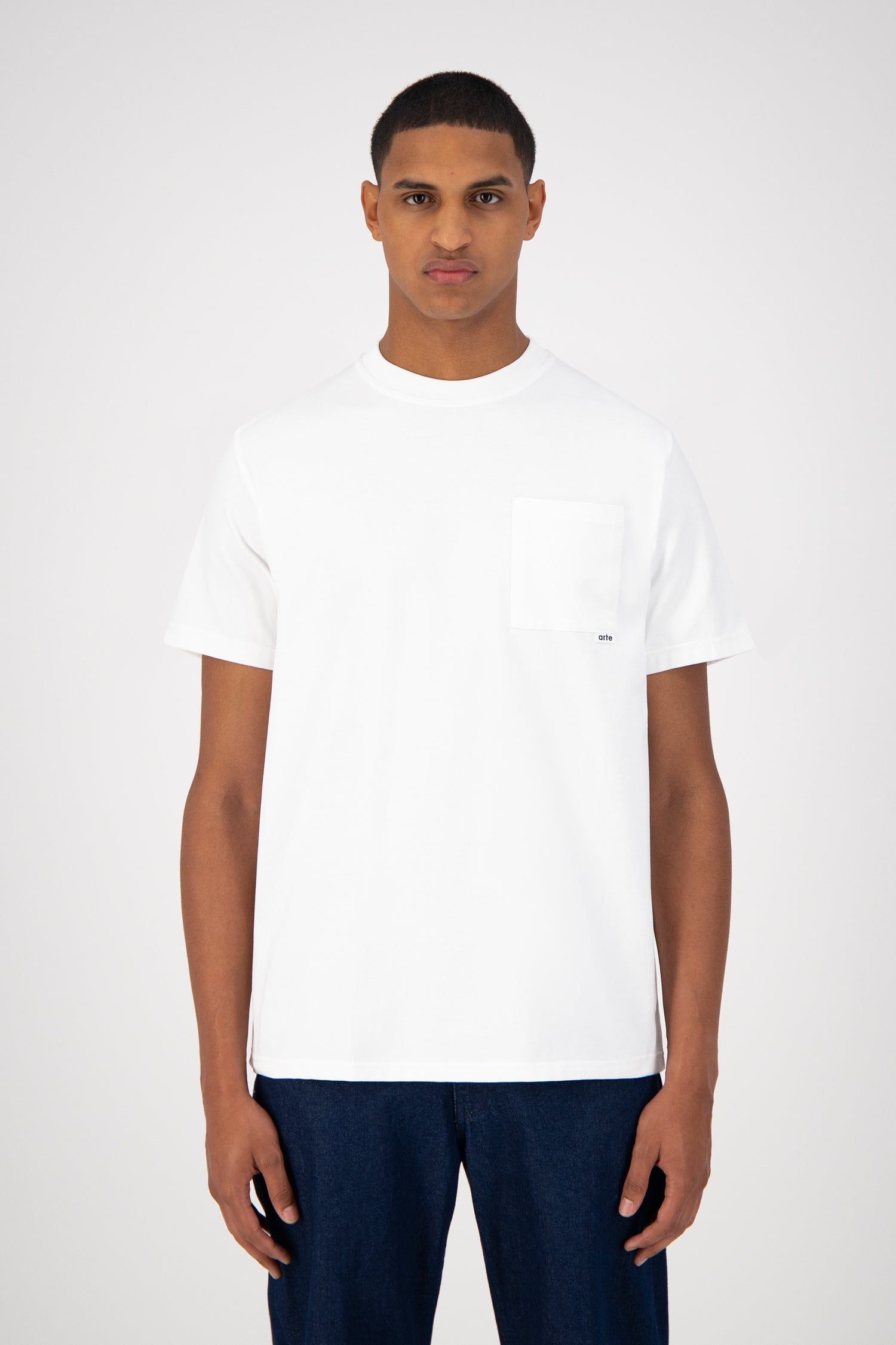 Toby Pocket T-shirt - White