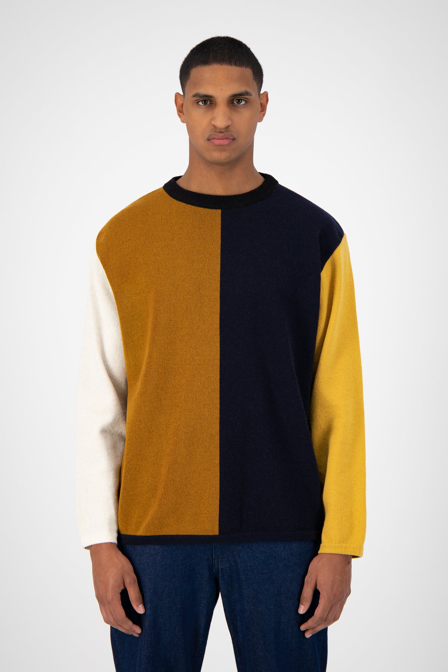 Karson Knitted Sweater - Multicolor