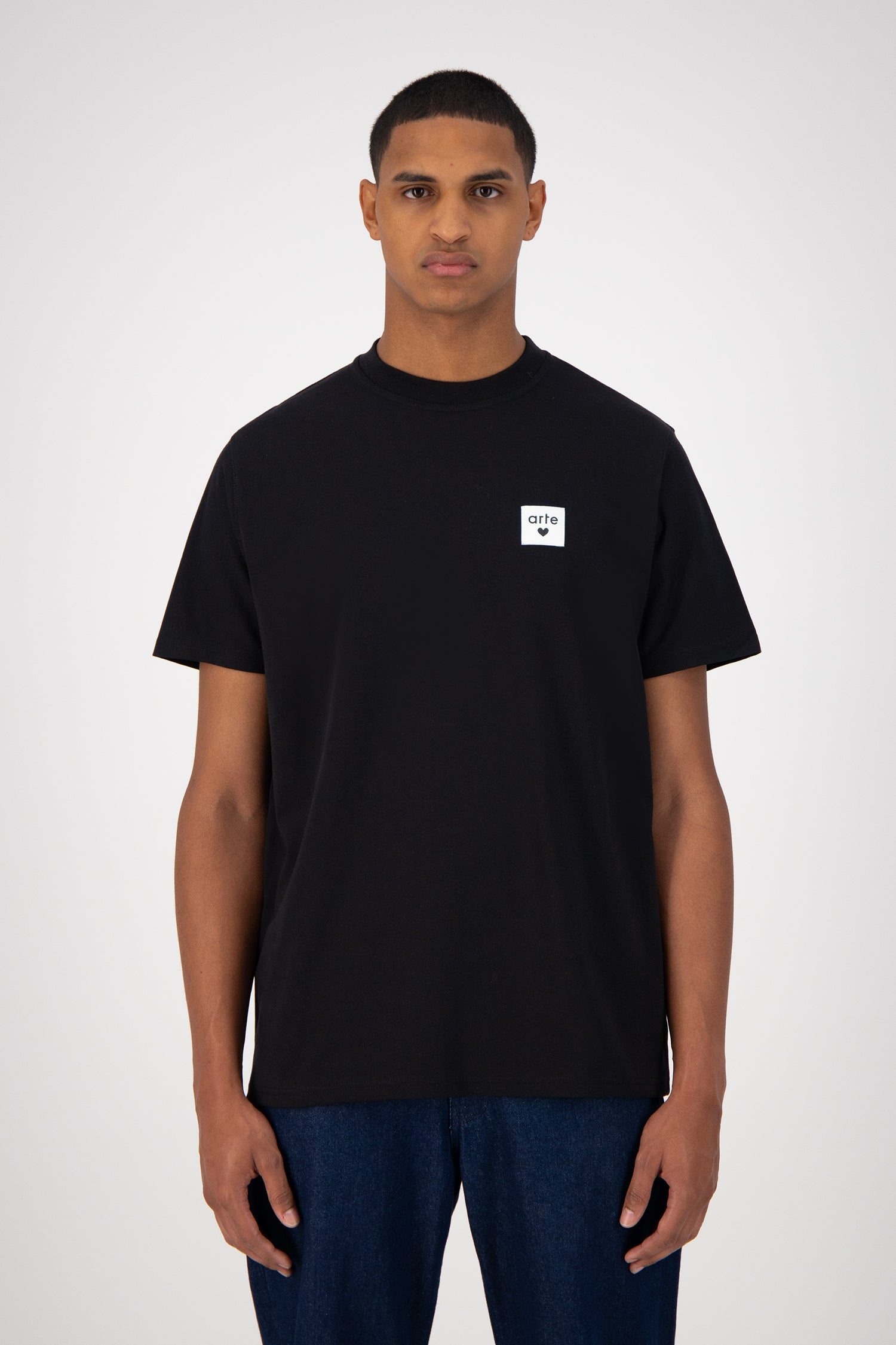 Toby Heart Label T-shirt - Black