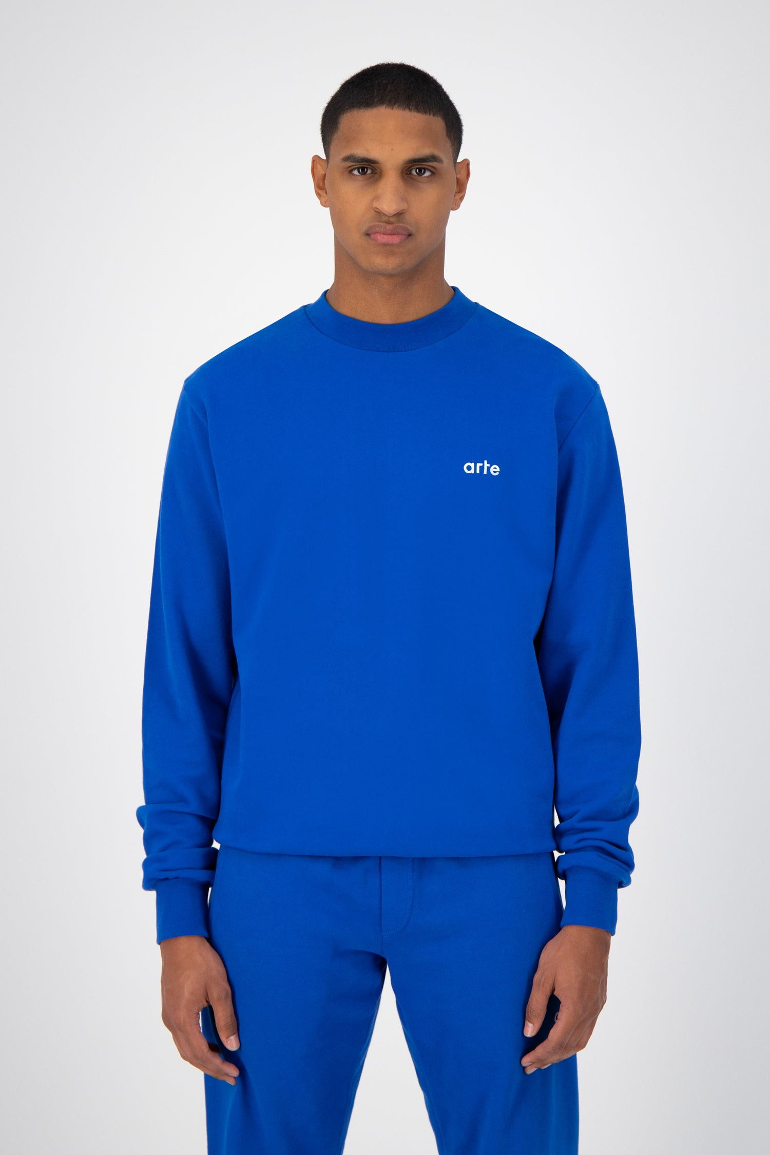 Chuck Logo Sweater - Royal Blue