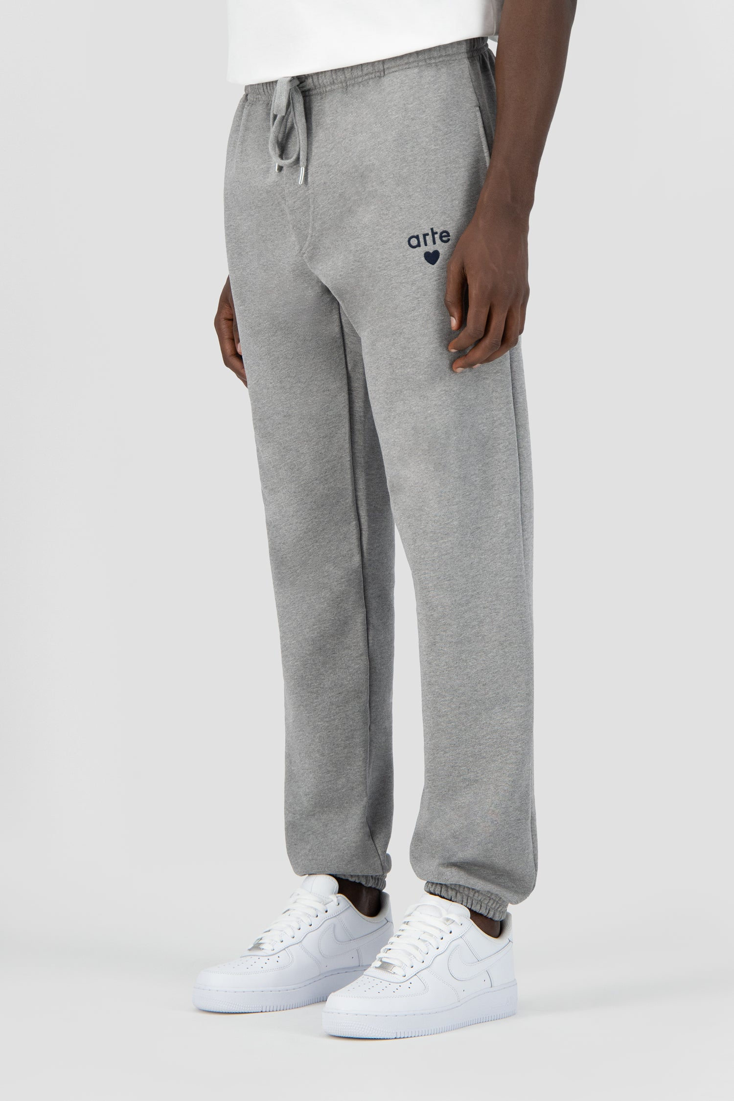 Tristian Heart Sweatpants - Grey