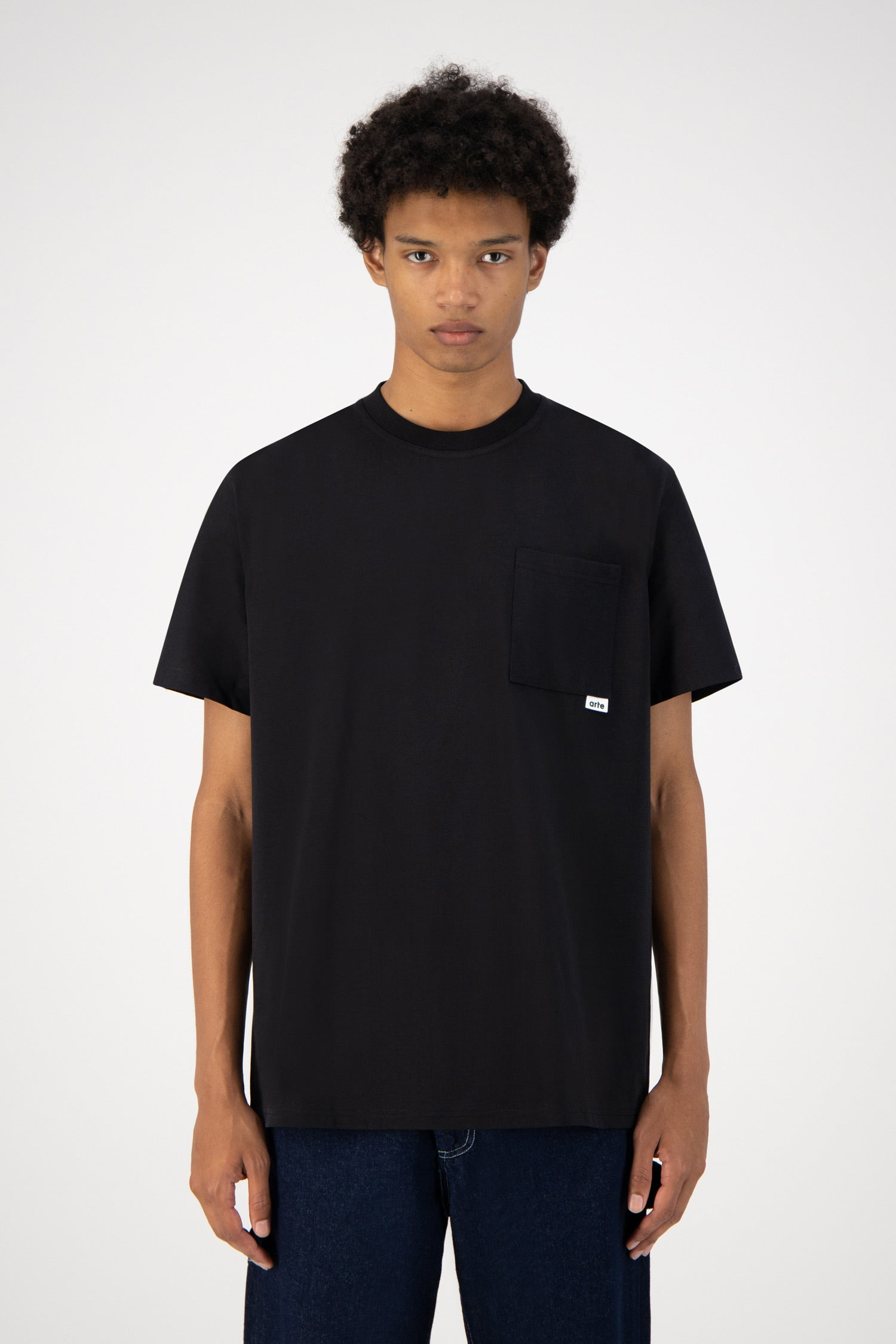 Toby Pocket T-shirt - Black