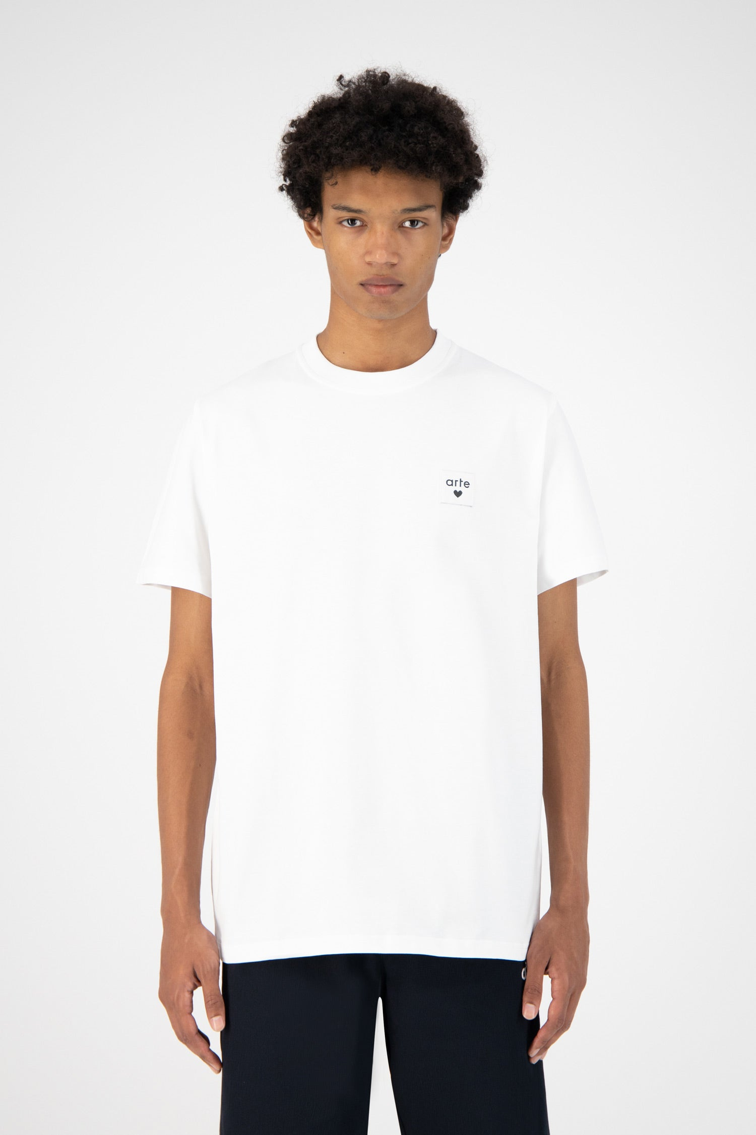 Toby Heart Label  T-shirt - White