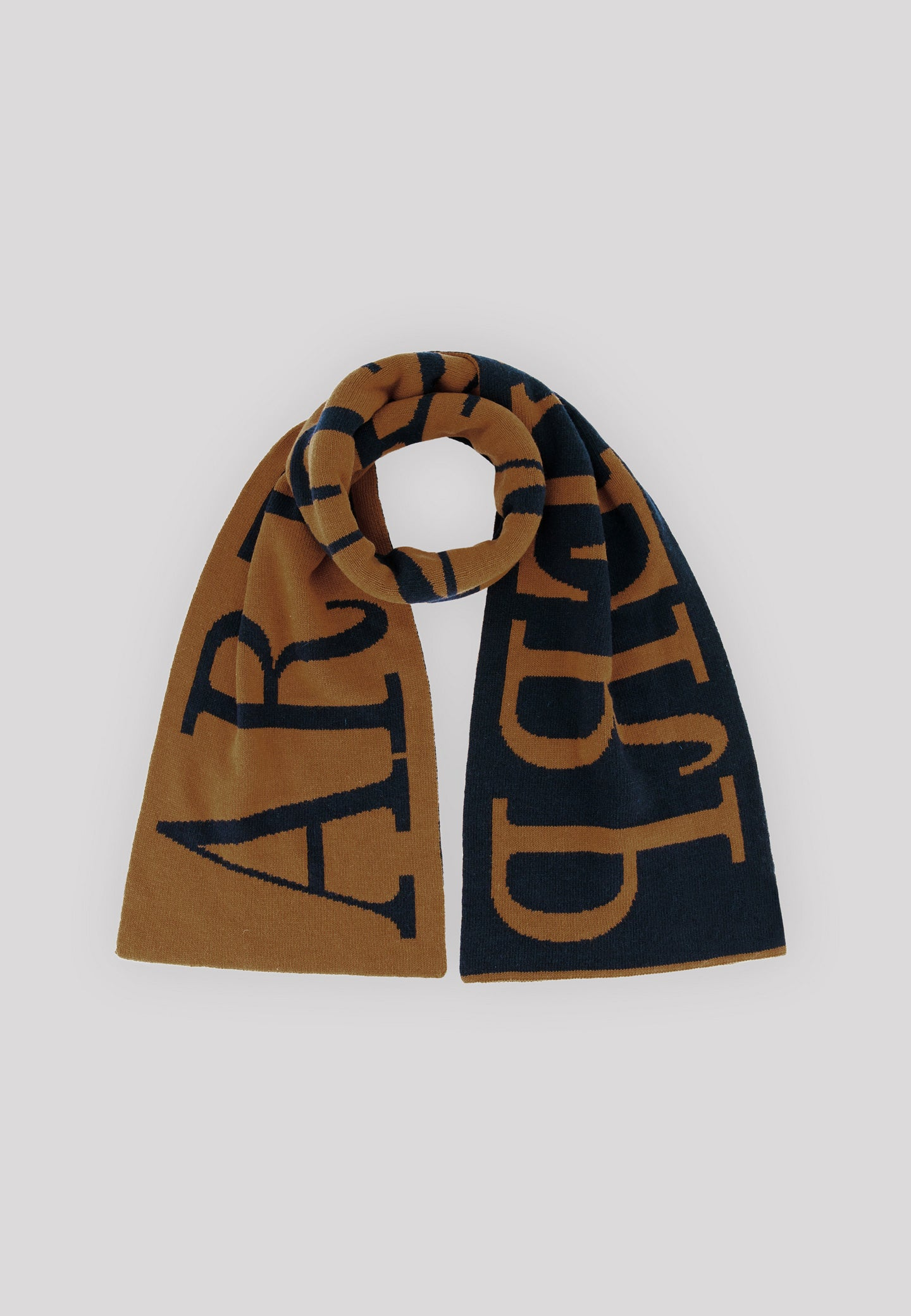 Aron Antwerp Scarf - Brown